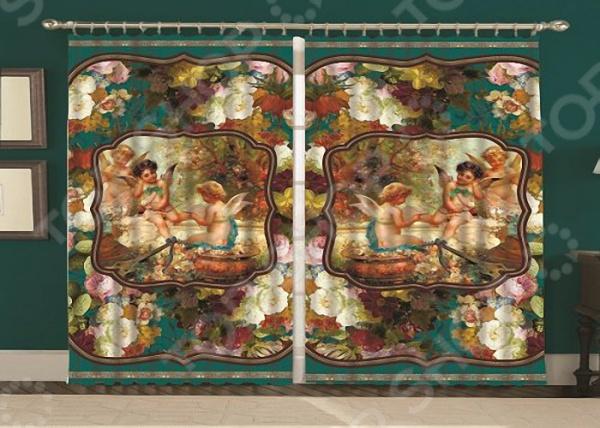 Фотошторы «Ангелочки» текстиль для дома