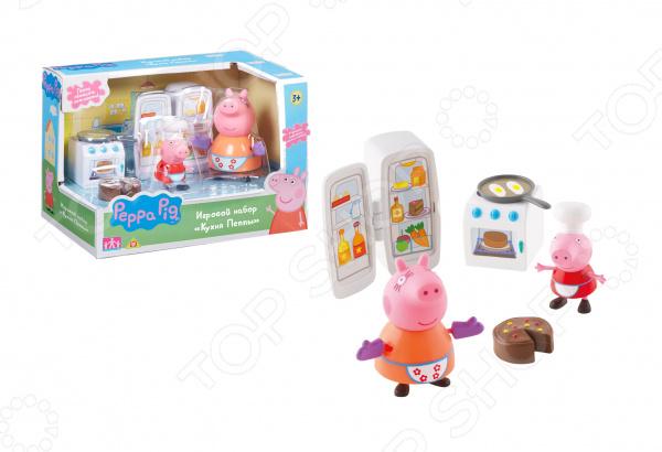 Игровой набор с фигурками Peppa Pig «Кухня Пеппы» 31610