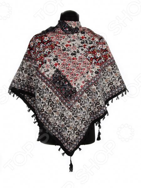 Платок Bona Ventura PL.XL-H.Pr.20 недорогой платок на шею для женщин