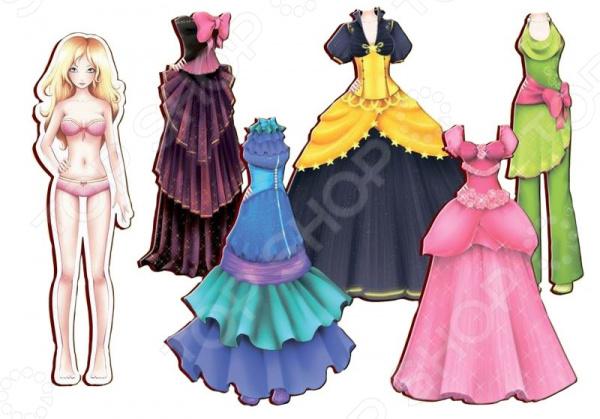Кукла с аксессуарами Полноцвет «Алиса с бальными платьями»