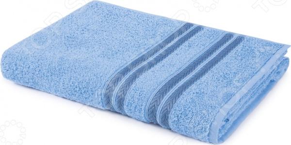 Полотенце махровое Aquarelle «Адриатика». Цвет: васильковый