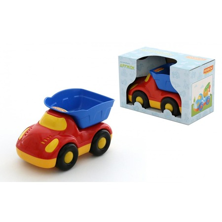 Купить Машинка игрушечная POLESIE «Дружок. Самосвал». В ассортименте