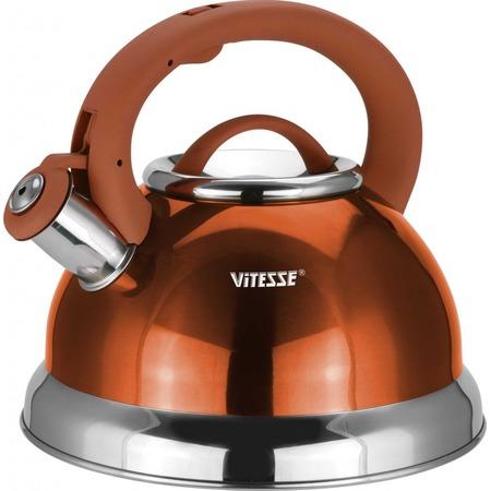 Купить Чайник со свистком VS «Металлик»
