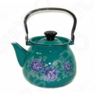Чайник эмалированный 42115-133/6 Он станет не только практичным и удобным дополнением на вашей кухне...