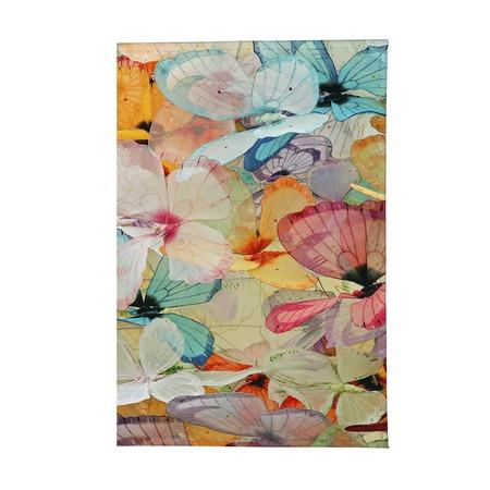 Купить Обложка для паспорта Mitya Veselkov «Цветные бабочки»
