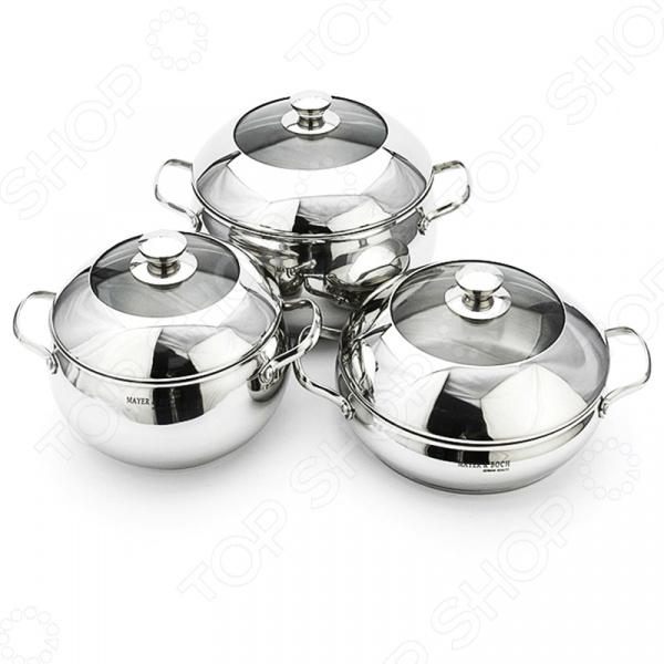 Набор посуды Mayer&Boch MB-20854 сковорода d 24 см mayer and boch mb 22477