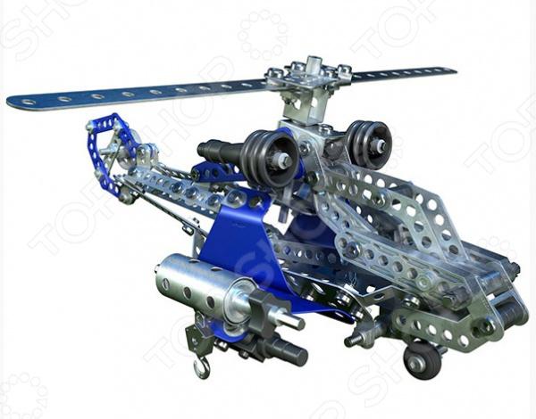 Конструктор игрушечный Meccano Боевой вертолет это комплект для увлекательной игры с деталями, с помощью которых можно собрать игрушку. Для этого в комплекте есть всё необходимое. Детский конструктор является достаточно практичным учебным пособием, так как он развивает память, мышление, логику, фантазию, а также моторику рук. Сборка конструктора подарит ребенку массу удовольствия и приятное времяпрепровождение, а помимо этого игра с деталями позволит развить пространственное мышление, воображение, фантазию и мелкую моторику рук.