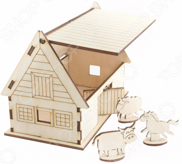 Конструктор деревянный Model.Toys «Ферма»