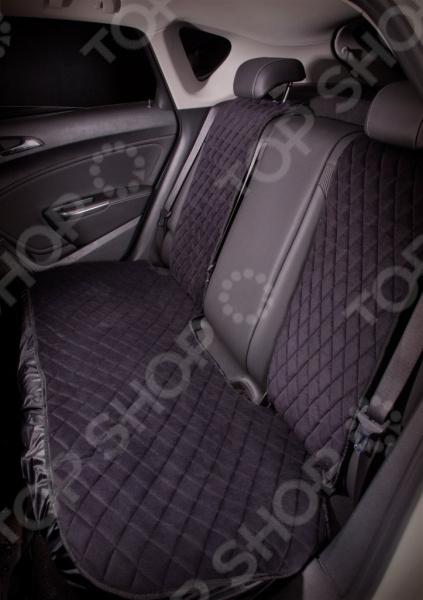 Набор накидок защитных на задние сиденья Airline «Алькантара» Набор накидок защитных на задние сиденья Airline «Алькантара» /