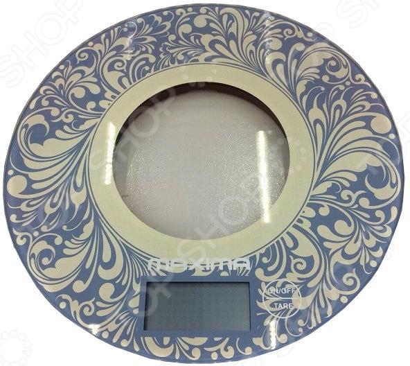 Весы кухонные Maxima MS-067 «Орнамент» весы maxima ms 067 рисунок