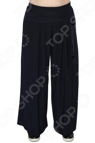 Юбка-брюки Лауме-Лайн «Высокая мода». Цвет: темно-синий брюки лауме лайн обворожительность цвет васильковый