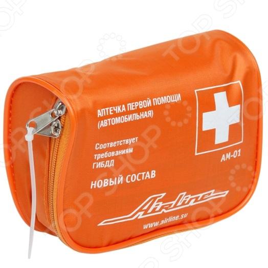 Аптечка автомобильная Airline AM-01 аптечка airline am 02