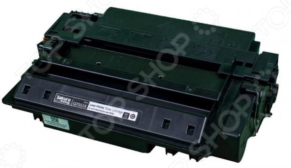 Картридж Sakura Q7551X для лазерного принтера HPP3005/P3005n/P3005d/P3005dn/3005x/M3027MFP/M3027xMFP/M3035MFP/M3035xsMFP цена