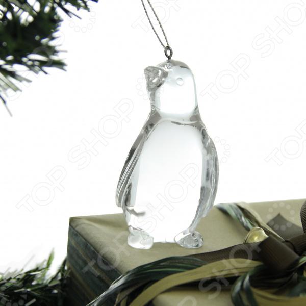 Елочное украшение Crystal Deco «Пингвин»