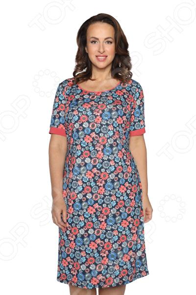 Платье Лауме-Лайн «Идиллия». Цвет: синий