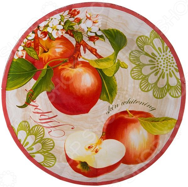 Тарелка десертная Lefard «Фрукты» 33-114