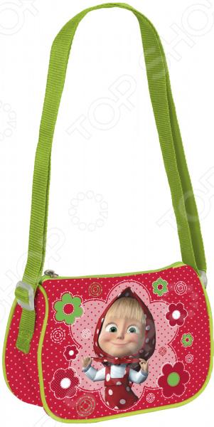 Сумка детская Росмэн 31978 миниатюрная сумочка с очаровательным рисунком, станет излюбленным аксессуаром вашего ребенка. В ней можно хранить личные вещи, тетради, книжки и прочие мелочи. Прекрасно держит форму, поэтому чтобы ребенок в ней не хранил, оно не помнется и не сломается.  Сумочка имеет одно отделение на молнии, в которое можно положить любимые игрушки или необходимые на прогулке вещи.  Длину регулируемой лямки можно установить от 28 до 48 см, поэтому аксессуар подходит девочкам разного роста.  Декорирована объемной блестящей аппликацией PVC и ярким принтом, устойчивым к истиранию и выгоранию на солнце. Яркая сумочка создана специально для вашей юной принцессы.