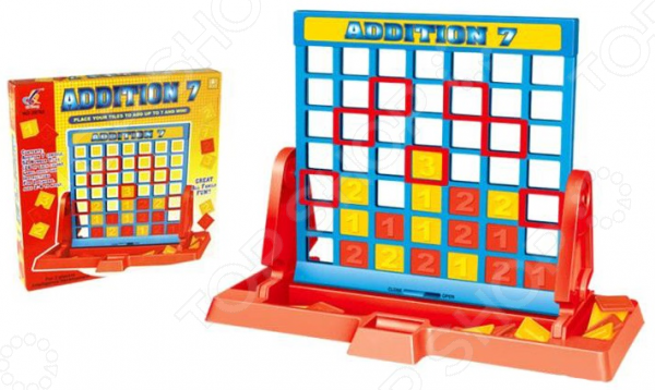 Игра настольная развивающая для детей Di Hong «Прибавление» vegetation hong 30