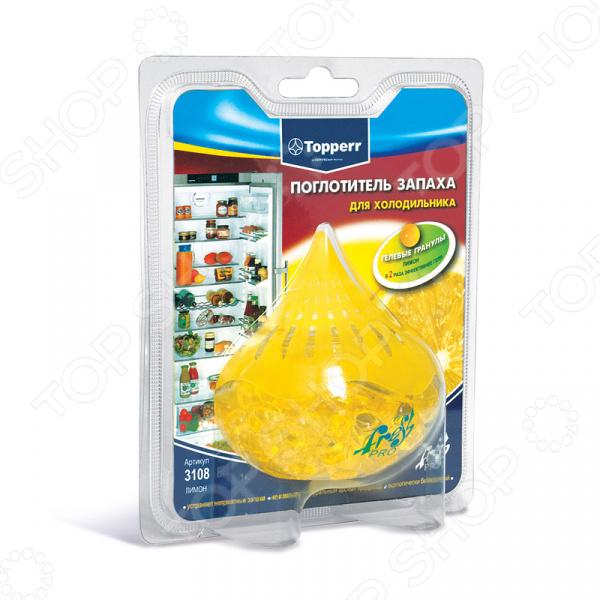 Поглотитель запаха для холодильника Topperr 3108 автомобильные ароматизаторы биобьюти поглотитель запаха