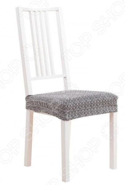 Комплект натяжных чехлов на сиденье стула Еврочехол «Коста» бб