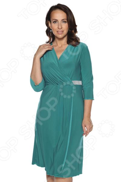 Платье Лауме-Лайн «Нежный цвет». : бирюзовый