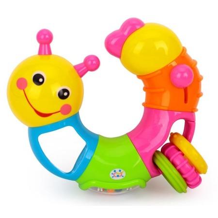 Купить Игрушка-погремушка Huile Toys «Гусеница». В ассортименте