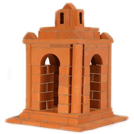 Купить Конструктор из глины Brick Master «Беседка»