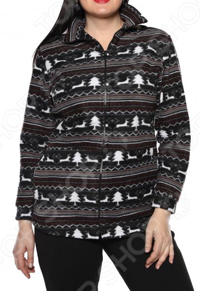 Пуловер El Fa Mei «Мягкое мгновение». Цвет: мультиколор