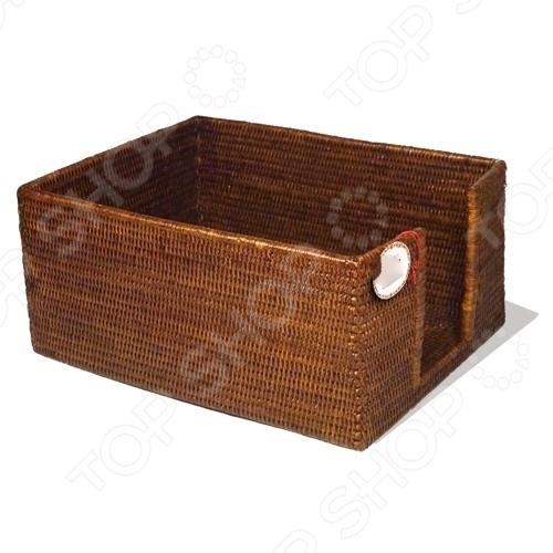 Короб плетеный для хранения 2К Комфорт 1716027