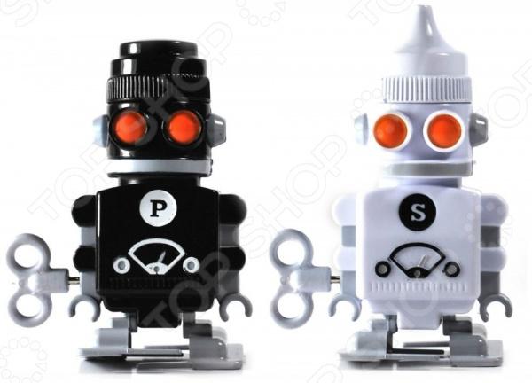 Солонка и перечница заводные Suck UK Bots Suck UK - артикул: 380793