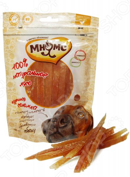 Лакомство для собак Мнямс «Куриная соломка с омега-3 и омега-6»