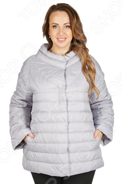 Куртка Мишель Капрони «Листопад». Цвет: серый