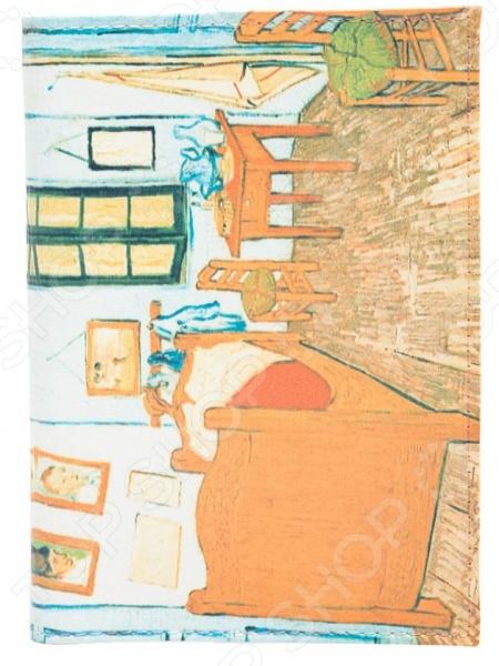 Обложка для паспорта кожаная Mitya Veselkov «Ван Гог. Спальня в Арле»