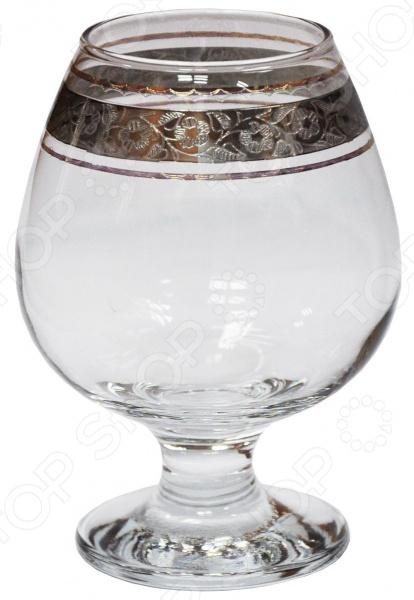 Набор бокалов для бренди Гусь Хрустальный «Флорис» набор стаканов со стойкой гусь хрустальный флорис