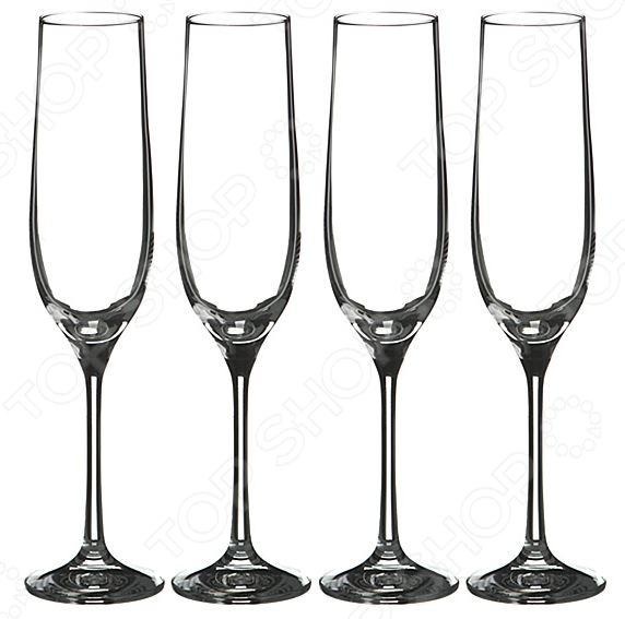 Набор бокалов для шампанского Bohemia Crystal «Бар» bohemia crystal набор бокалов для шампанского felina 25 см 2 шт