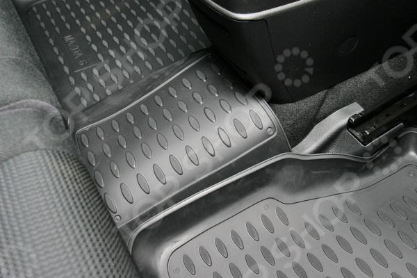 Комплект ковриков в салон автомобиля Element Mazda 6 2002-2007 комплект ковриков в салон автомобиля element chery indis 2011