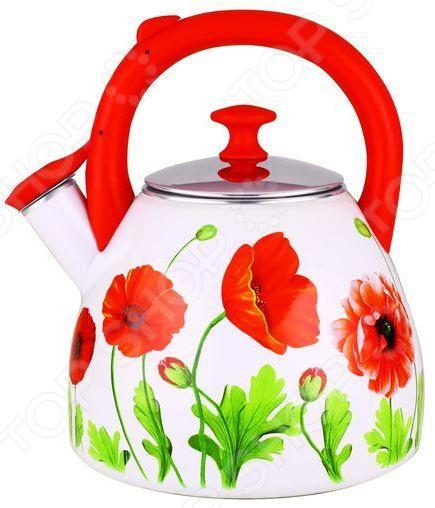 Чайник эмалированный Чудесница ЭЧ-3002 чайник чудесница эч 2004 brown