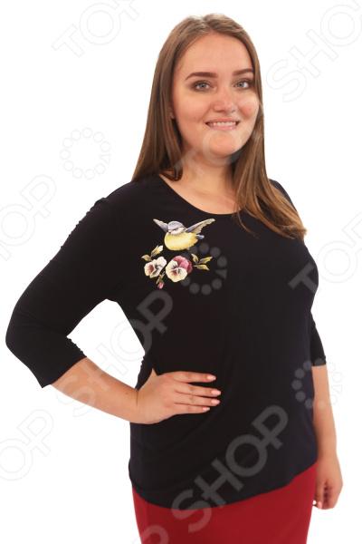 Блуза Лауме-Лайн «Перелетная птица». Цвет: черный блуза лауме лайн перелетная птица цвет черный