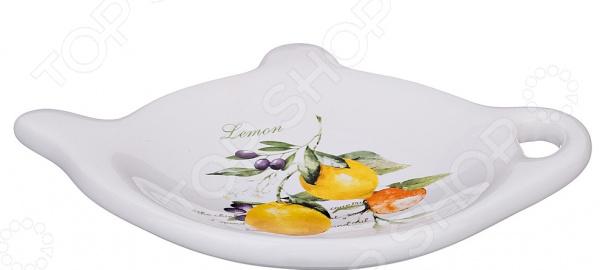 Подставка  чайные пакетики Lefard «Итальянские лимоны» 230-154
