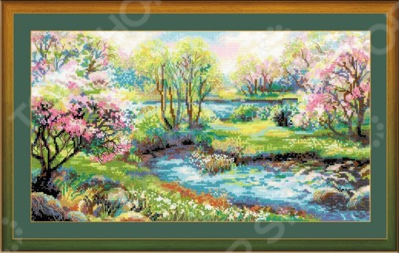Набор для вышивания Сотвори Сама «Царство весны»