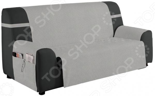 Накидка на трехместный диван Медежда «Иден» чехол на мебель медежда чехол на стул с юбкой иден коричневый