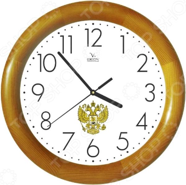 Часы настенные Вега Д 1 НД 7 201 «Герб России»