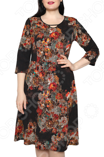 Платье Лауме-стиль «Звезда моя». Цвет: черный