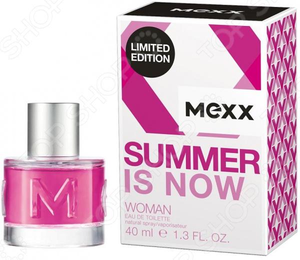 Туалетная вода для женщин MEXX Le Summer Is Now Woman, 40 мл туалетная вода mexx туалетная вода mexx woman туалетная вода 40 мл