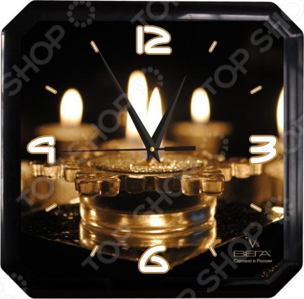 Часы настенные Вега П 4-6/6-59 часы вега п 1 8 6 208 мусульманские темный город