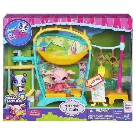 Купить Набор игровой Hasbro HA5474 «Студия обезьянки Минки»