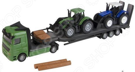 Набор машинок игрушечных HTI «Перевозчик тракторов» куплю шину для тракторов и сельскохозяйственных машин 265 70р16