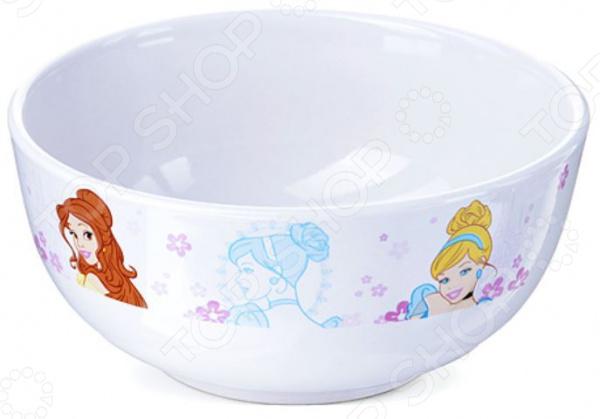 Тарелка суповая детская Princess Disney