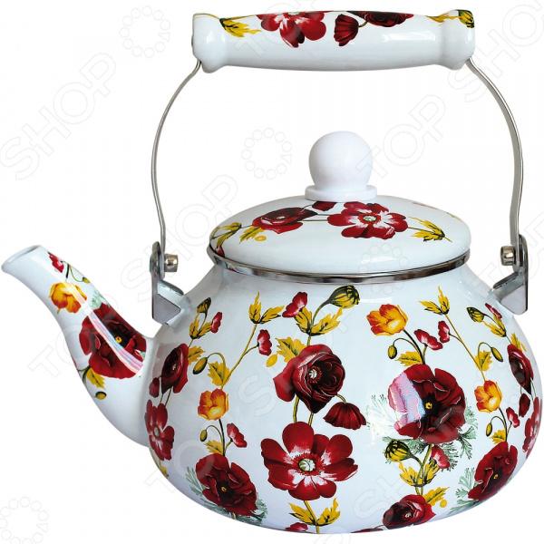 Чайник эмалированный Rainstahl RS-7531-24 чайник эмалированный rainstahl rs 7541 22