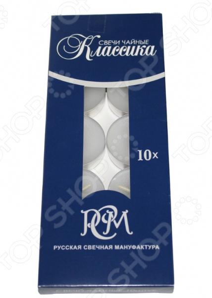 Набор свечей чайных Русская свечная мануфактура «Классика»
